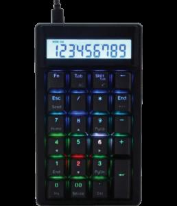 teclado numérico calculadora ducky