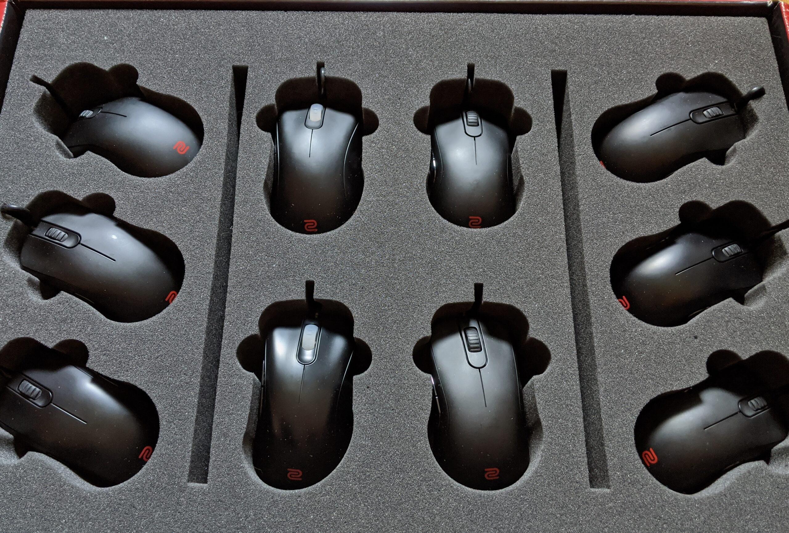 Tipos de Agarre de ratón